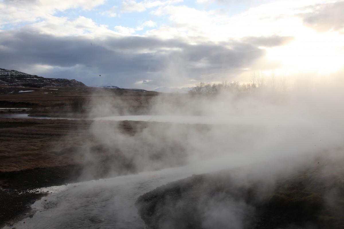 Zdjęcia: Reykholtsdalur, Reykjavik, Wody termalne Deildartunguhver, ISLANDIA