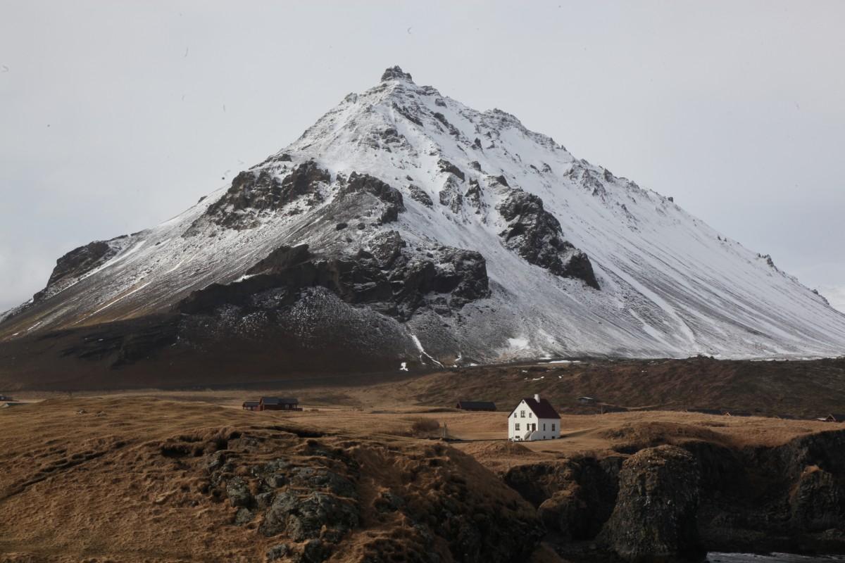 Zdjęcia:  Arnarstapi, Półwysep Snæfellsnes, W cieniu wulkanu, ISLANDIA