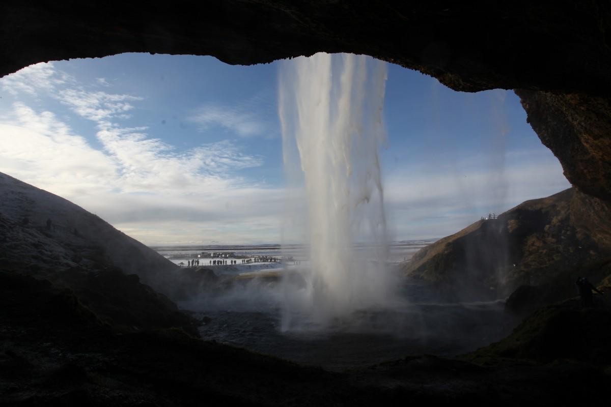 Zdjęcia: Seljalandsfoss , Południowe wybrzeże, Wodospad z widokiem, ISLANDIA