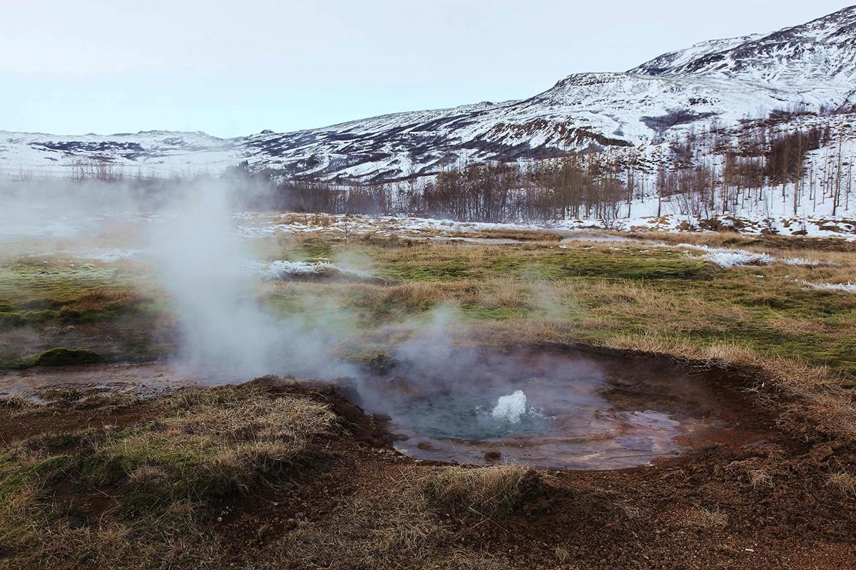 Zdjęcia: Strokkur ,  Geysir, Pole geotermalne, ISLANDIA