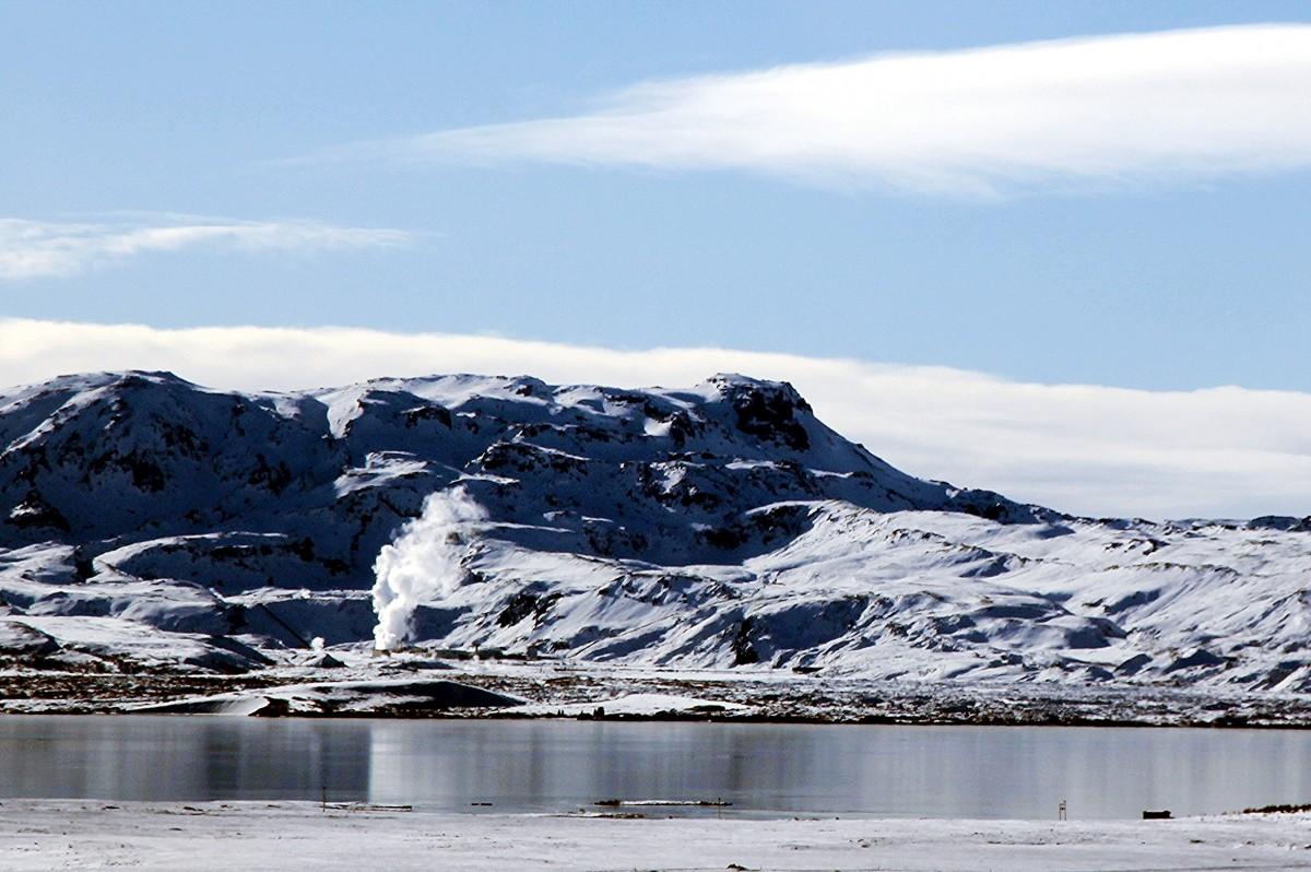Zdjęcia: Strokkur ,  Geysir, Islandzki widoczek, ISLANDIA