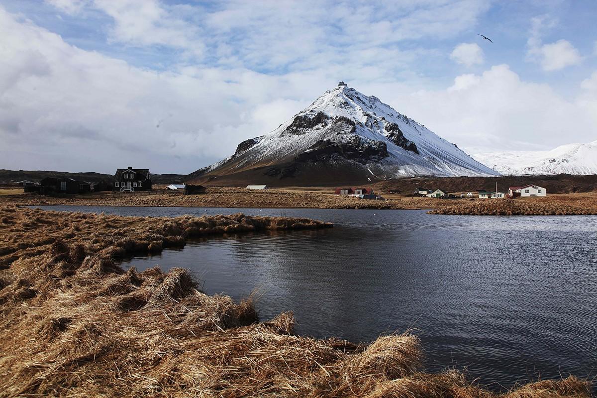 Zdjęcia: Arnarstapi, Półwysep Snæfellsnes, Gdy słońce zaświeci, ISLANDIA