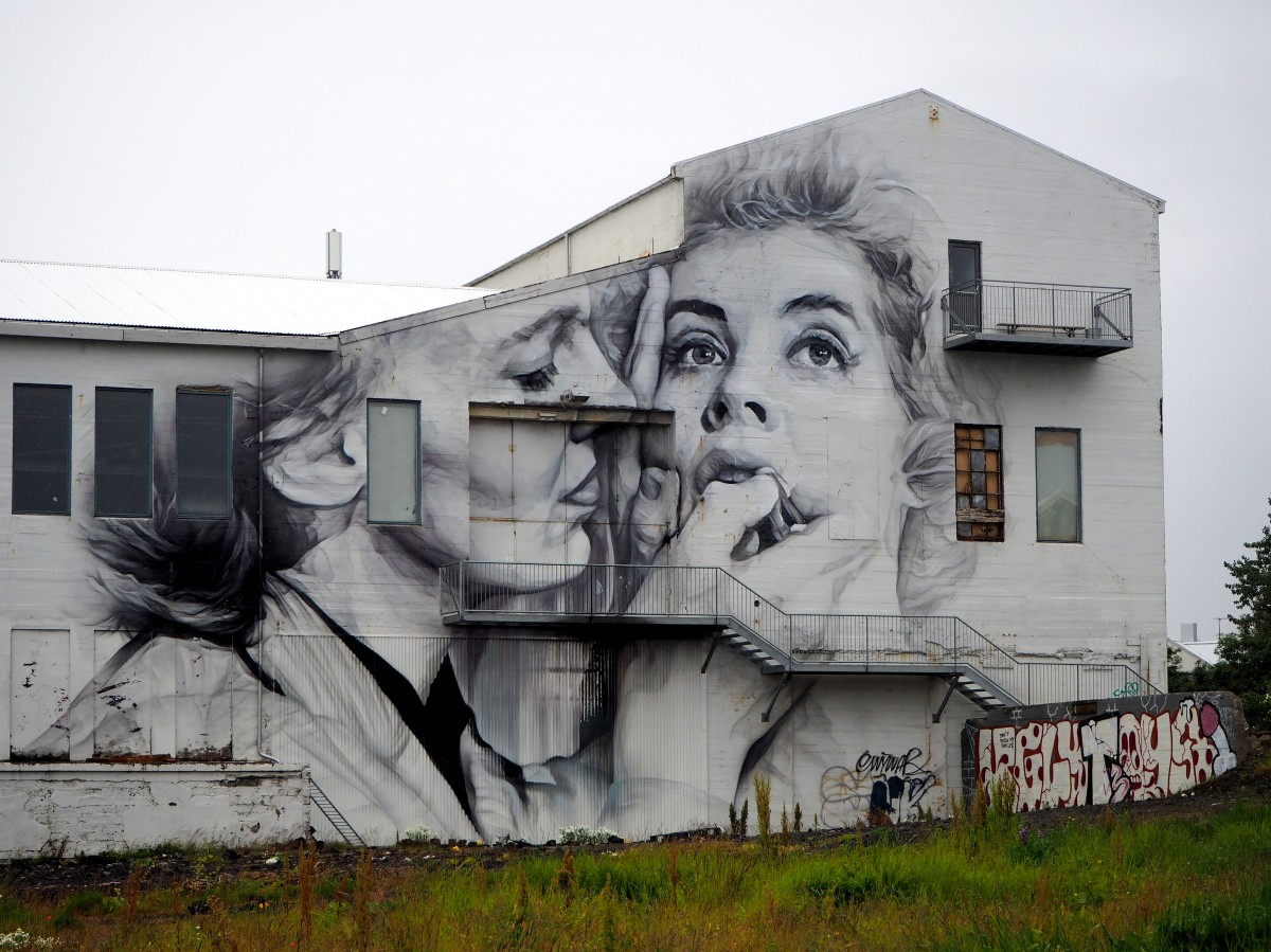 Zdjęcia: Reykjavik, Reykjavik, Mural, ISLANDIA
