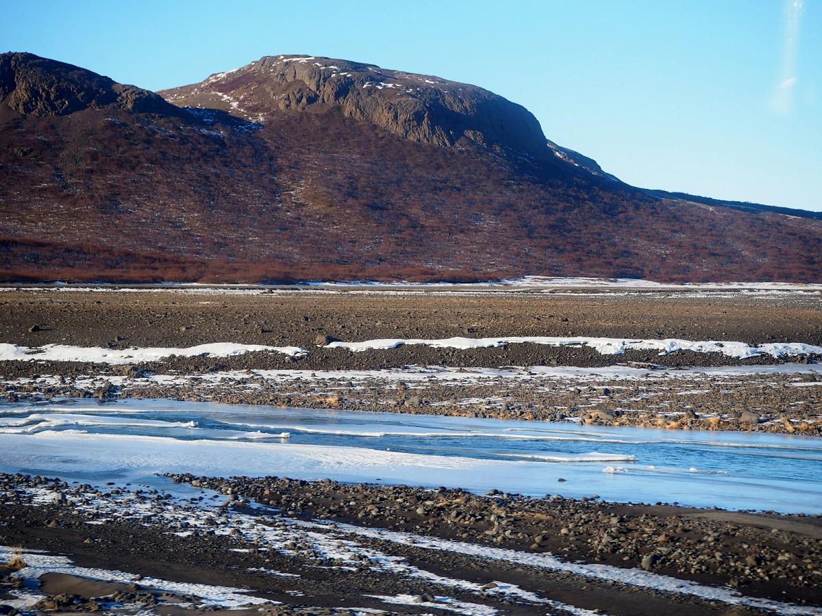 Zdjęcia: okolice lodowca Langjökull, zachodnia Islandia, Surowy islandzki krajobraz, ISLANDIA
