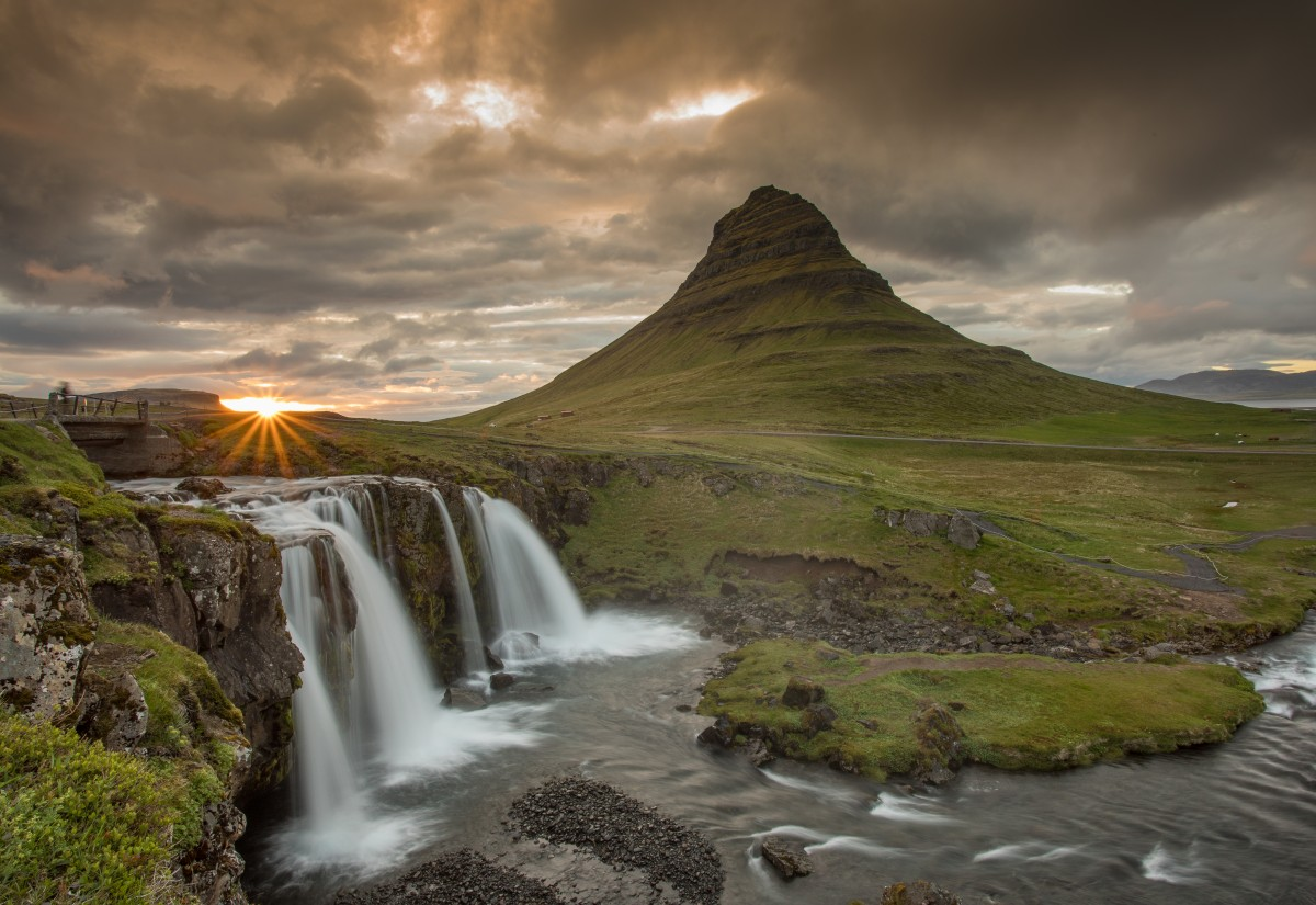 Zdjęcia: Islandia zachodnia, Islandia zachodnia, Kirkufjell - islandska klasyka, ISLANDIA