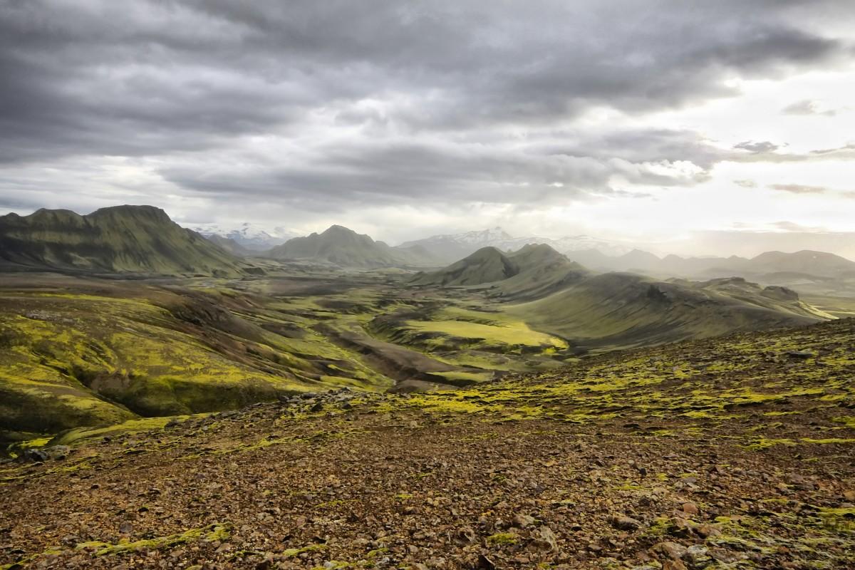Zdjęcia: interior, środkowa Islandia, Interior latem...., ISLANDIA