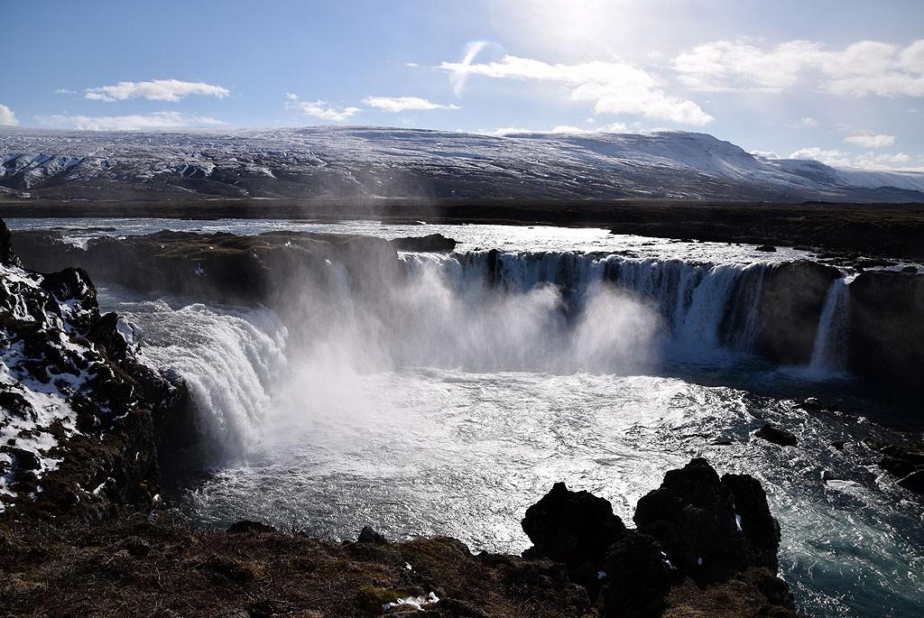 Zdjęcia: Godafoss, Islandia Północna, Godafoss, ISLANDIA