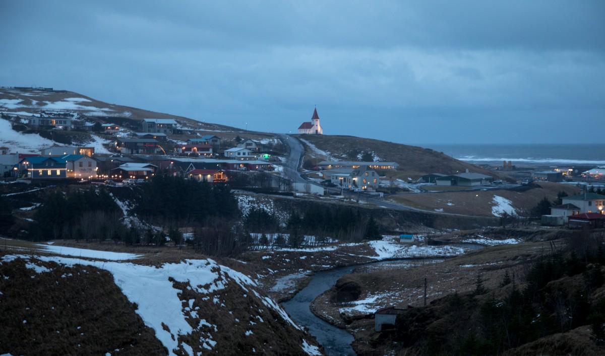 Zdjęcia:  Vik, Islandia południowa, zimowa Islandia, ISLANDIA