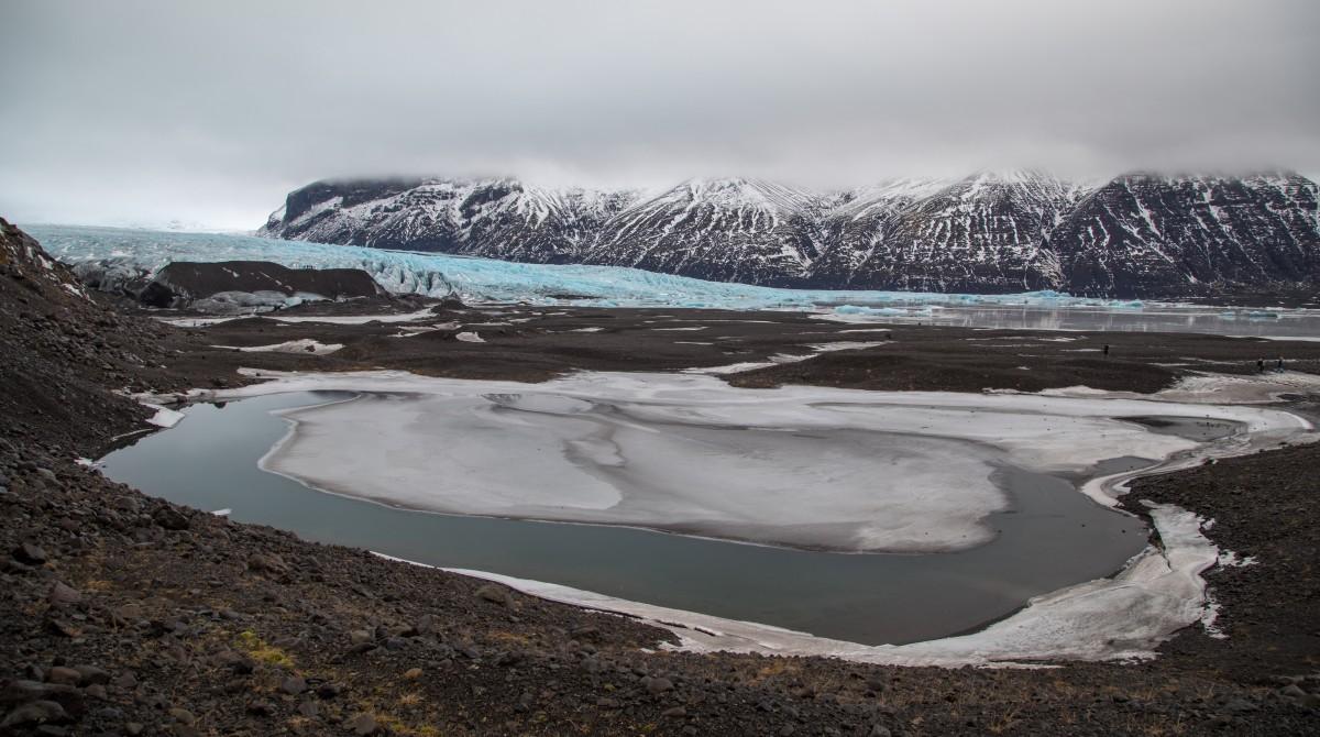 Zdjęcia: lodowiec, Islandia południowa, zimowa Islandia, ISLANDIA