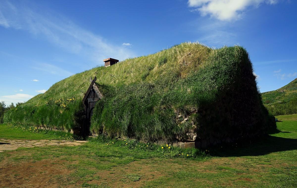 Zdjęcia: ., Stong, Dom Wikingów, ISLANDIA