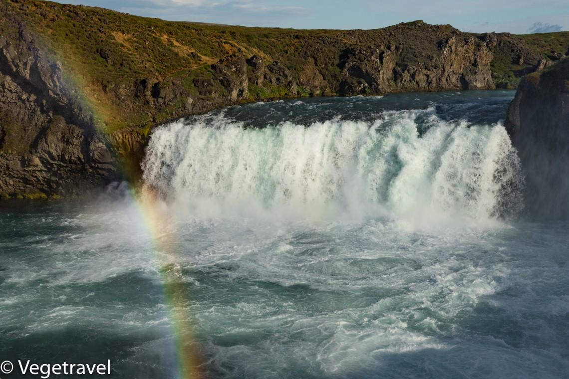 Zdjęcia: Godafoss, Północna Islandia, Wodospad Godafoss, ISLANDIA