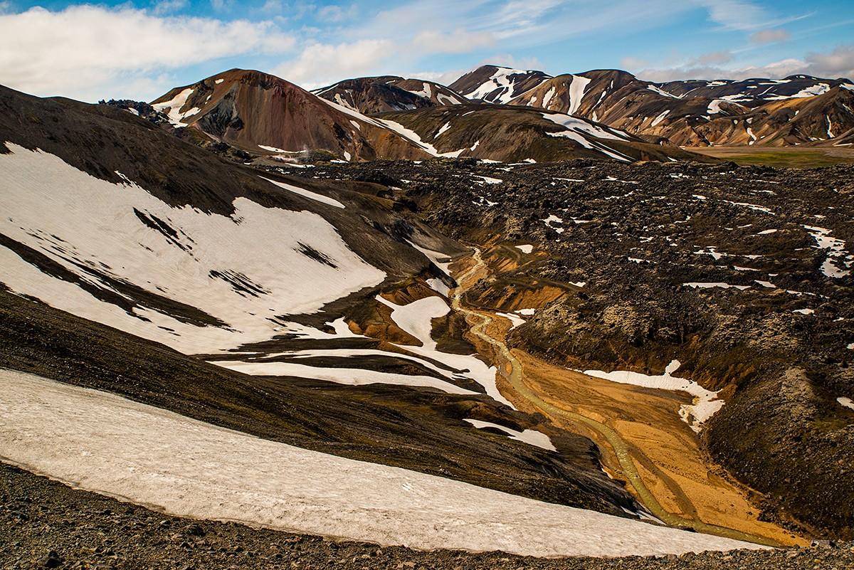 Zdjęcia: Park Narodowy Landmannalaugar, Poludnie wyspy, Tęczowe góry, ISLANDIA