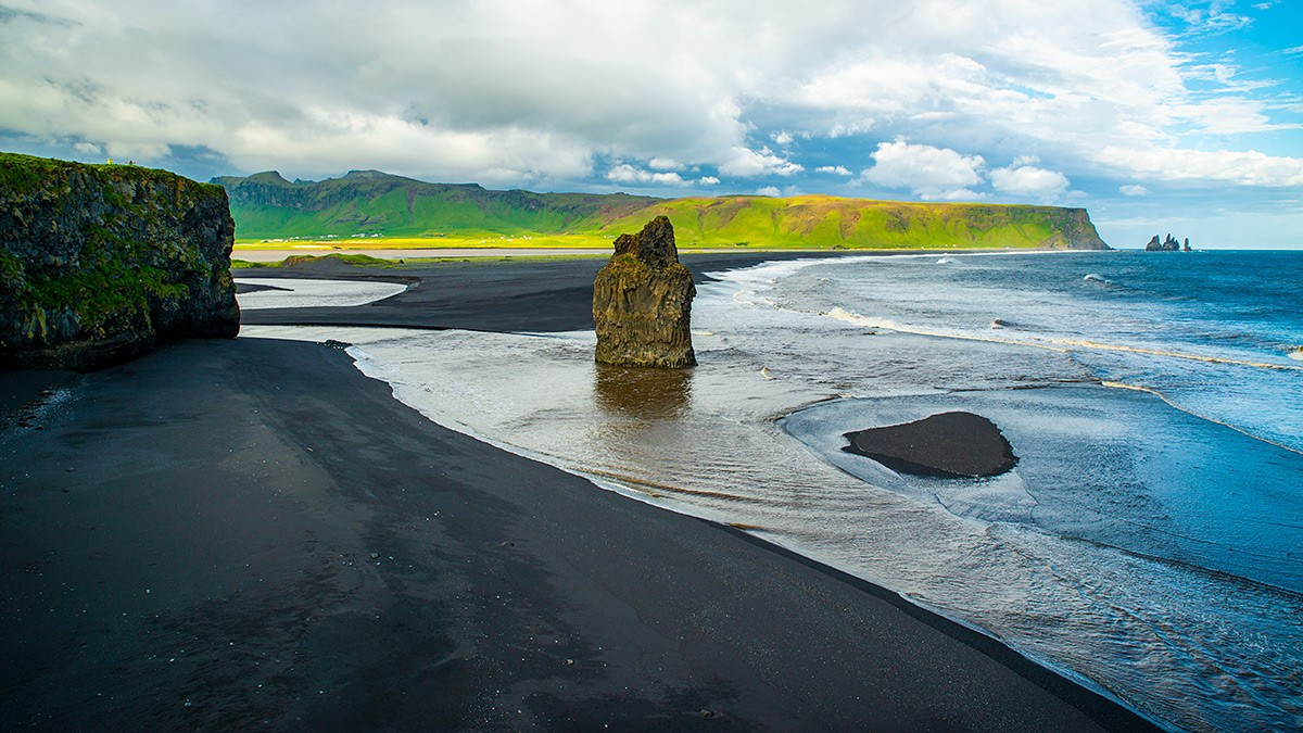 Zdjęcia: Plaża Reynisfjara, Poludnie wyspy, Plaża Reynisfjara, ISLANDIA