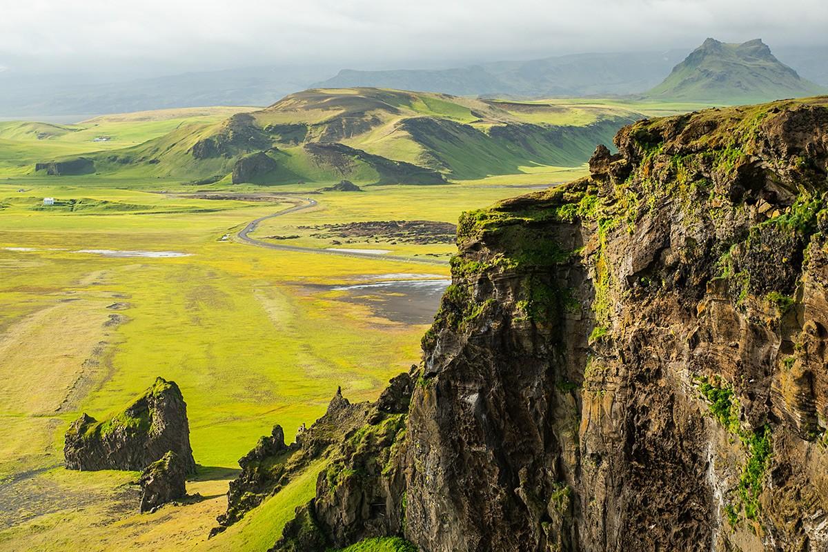 Zdjęcia: Cypel Dyrhólaey, Poludnie wyspy, Cypel Dyrhólaey, ISLANDIA