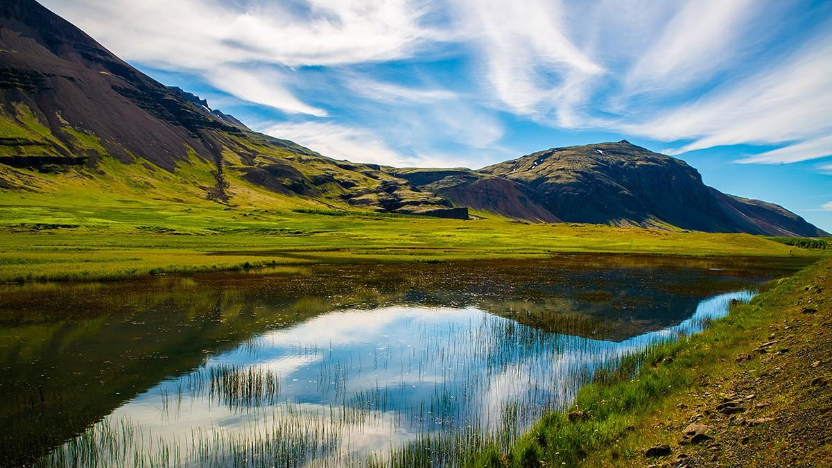 Zdjęcia: Okolice Reykjaviku, Poludnie wyspy, Krajobraz, ISLANDIA