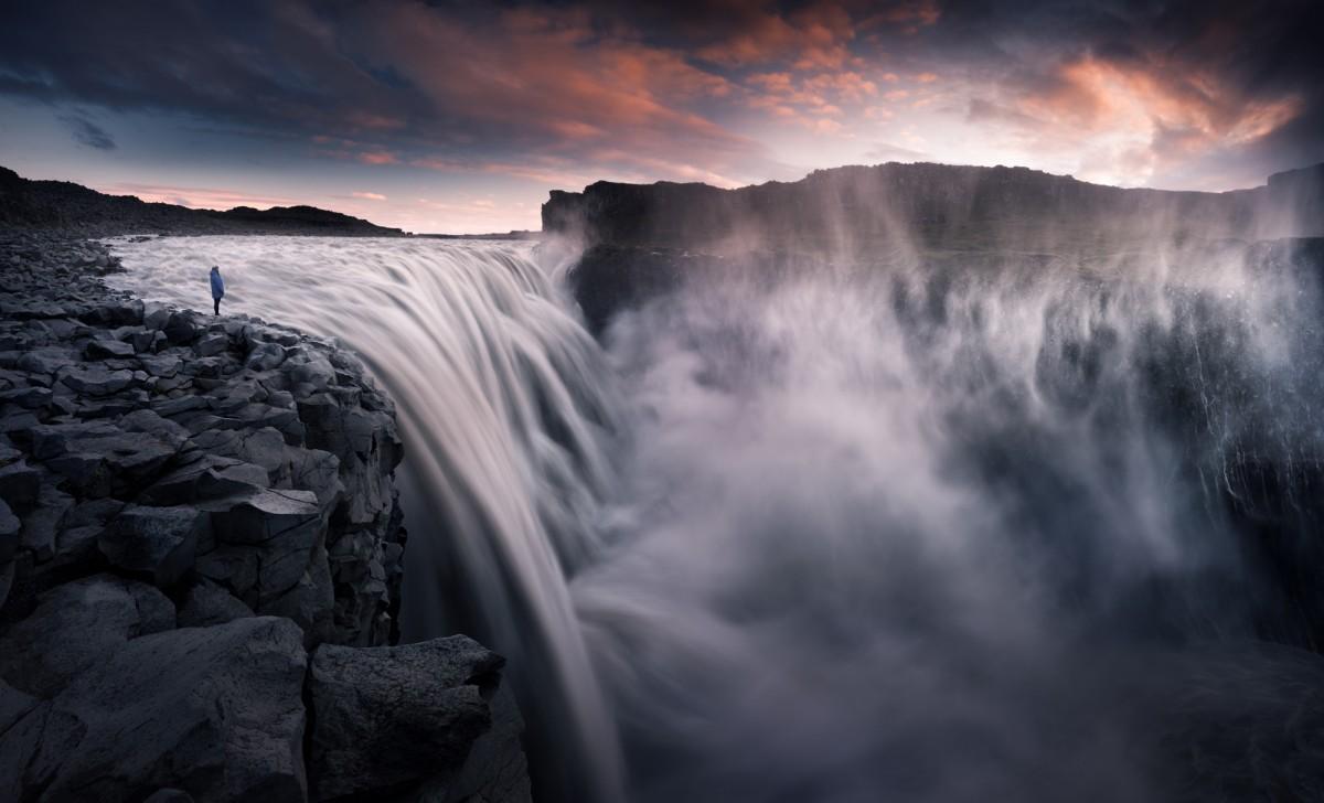 Zdjęcia: Wodospad Dettifoss, Islandia, Dettifoss, ISLANDIA