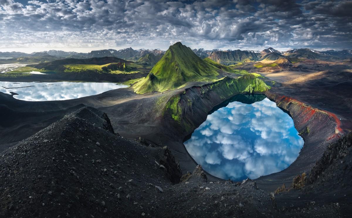 Zdjęcia: Landmannalaugar, Landmannalaugar, Krater, ISLANDIA