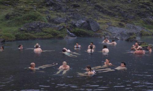 Zdjęcie ISLANDIA / poludnie / Landmannalaugar / miedzynarodowa łaźnia ;)