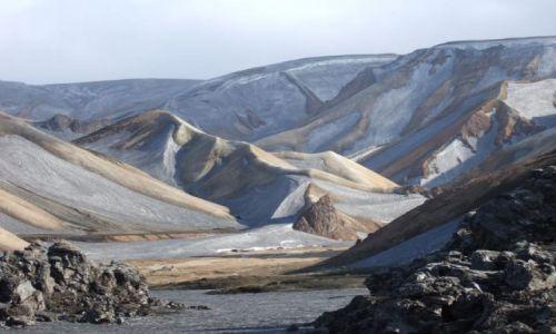 ISLANDIA / - / Landmannalaugar / Jak z Bajki