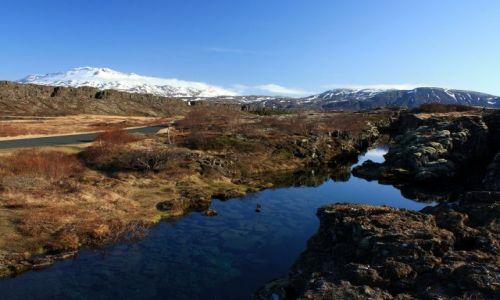 Zdjecie ISLANDIA / południowy zachód / Þingvellir / Park Narodowy Þingvellir
