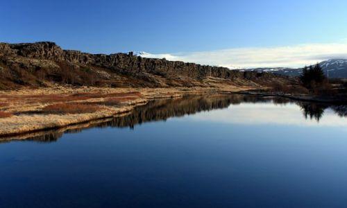 Zdjecie ISLANDIA / południowy zachód / Þingvellir / Öxará
