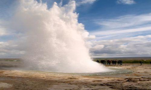 Zdjecie ISLANDIA / - / Golden Triangle Geysir / Gejzer (Iceland)