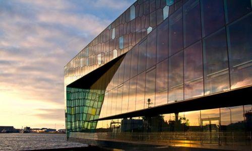 ISLANDIA / - / Reykjavik /  Harpa Concert Hall.