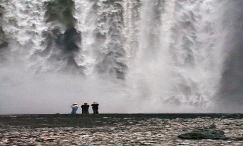 Zdjecie ISLANDIA / - / Skogar / Wodospad Skogafoss