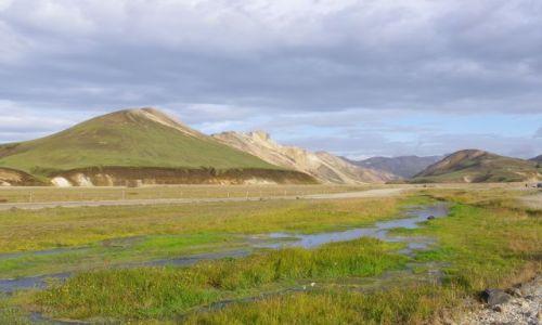 ISLANDIA / południe Islandii / Landamannalaugar / Konkurs