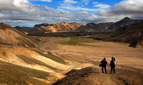 ISLANDIA / - / Landmannalaugar / Landmannalaugar - Góry Tęczowe.