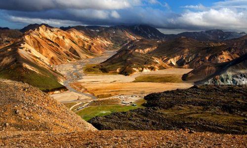 Zdjecie ISLANDIA / - / Landmannalaugar / Landmannalaugar - Góry Tęczowe.