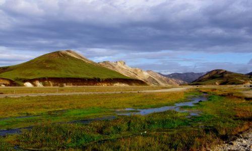 ISLANDIA / południe Islandii / Park Narodowy / Landmannalaugar