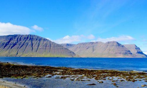 ISLANDIA / północ Islandii / Fiordy / Fiordy północne
