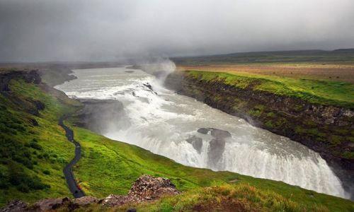 ISLANDIA / - / Islandia / Gullfoss