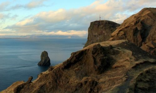 Zdjecie ISLANDIA / Vestmannaeyjar / Heimaey / Klify Heimaey