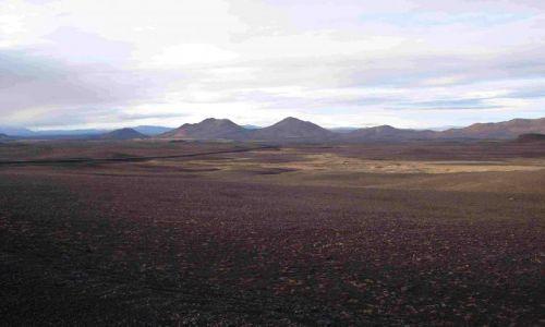 Zdjecie ISLANDIA / islandia polnocna / islandia polnocna / na drodze do my