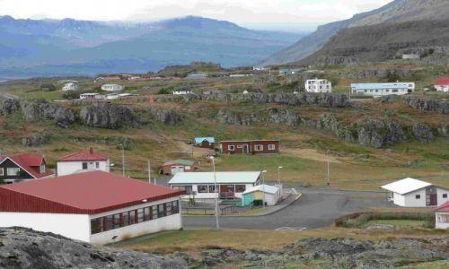 Zdjecie ISLANDIA / wschodnia islandia / reydarfjordur / domki