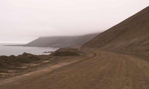 Zdjecie ISLANDIA / wschodnia islandia / droga wzdluz wschodniego wybrzeza islandii / droga