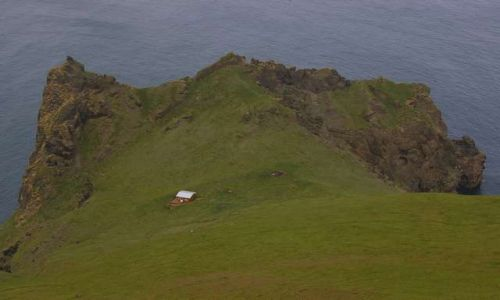 Zdjecie ISLANDIA / Wyspy Westmanów / Wyspa Heimaey / Samotność