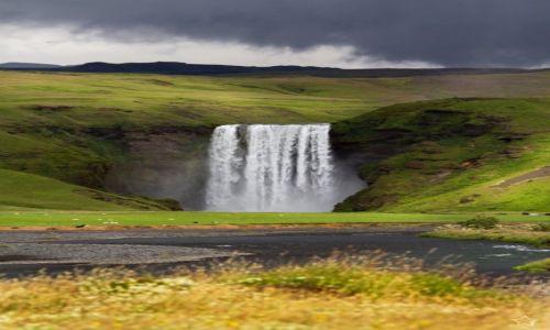 Zdjecie ISLANDIA / Skogar / Skogarfoss / Islandia