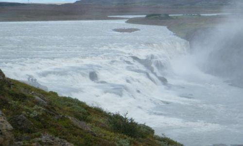 Zdjęcie ISLANDIA / Południowa Islandia / Gullfoss and Geysir / Gullfoss - raj na Ziemi