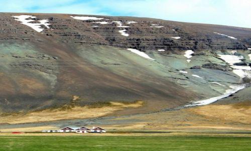 Zdjecie ISLANDIA / Zachód / ok. 200 km na północ od Rejkiawiku / Islandia - gdzieś w interiorze