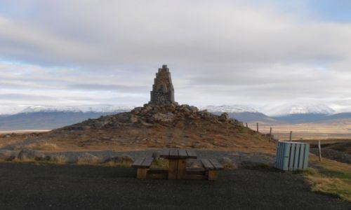 Zdjęcie ISLANDIA / Islandia pólnocna / Okolice Akureyri / Kamienny postój