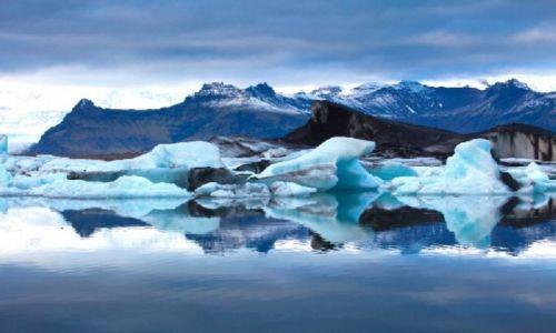 Zdjecie ISLANDIA / - / Lodowiec / Lodowiec Islandia