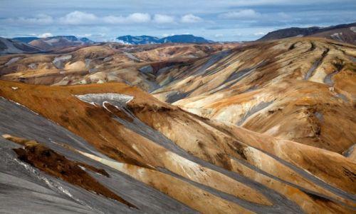 Zdjecie ISLANDIA / - / Islandia / G�ry Landmannal