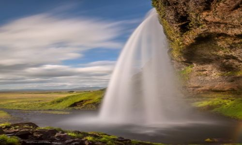 Zdjecie ISLANDIA / - /  Seljalandsfoss  /  Seljalandsfoss