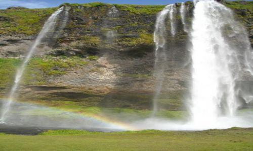 Zdjecie ISLANDIA / Islandia / Islandia / Wodospady Islandii