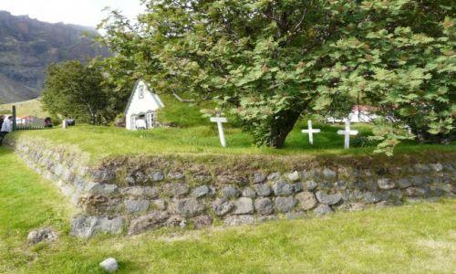 Zdjecie ISLANDIA / Islandia / Islandia / Kościółek w Islandii