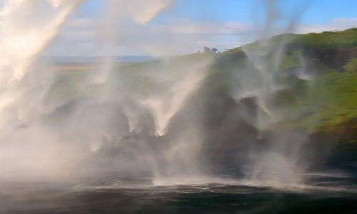 Zdjęcie ISLANDIA / Południe Islandii / Seljandsfoss  / Wodospad Seljandsfoss