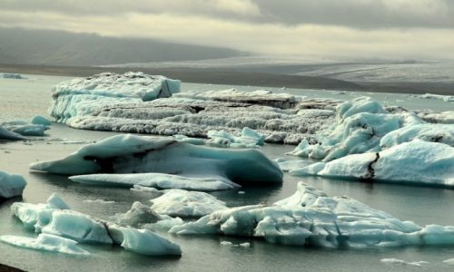 Zdjecie ISLANDIA / - / Islandia / Lodowa laguna